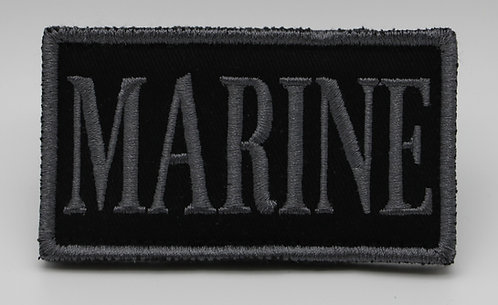 """MARINE  FLAG Patch With Hook Back 3 1/2"""" X 2"""""""
