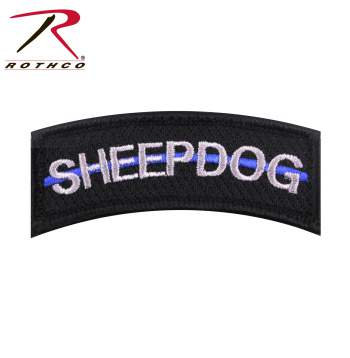 rothco thin blue line sheepdog morale patch lonestarherogear. Black Bedroom Furniture Sets. Home Design Ideas