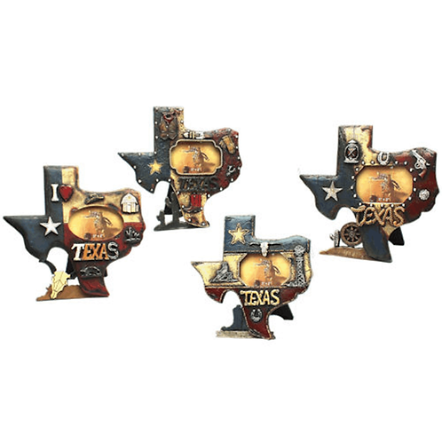 SET OF 4 TEXAS PICTURE FRAMES