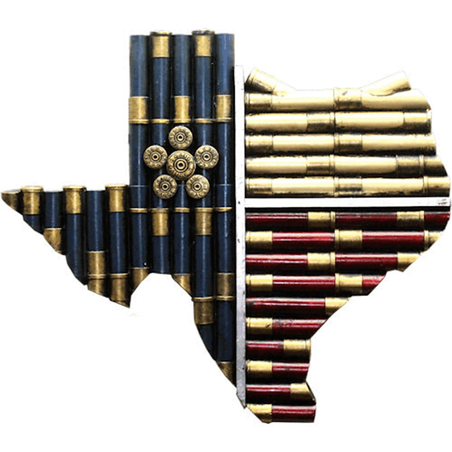 TEXAS SHOTGUN SHELL MAP