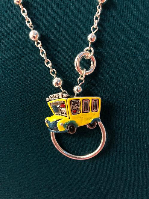 School Bus Lanyard