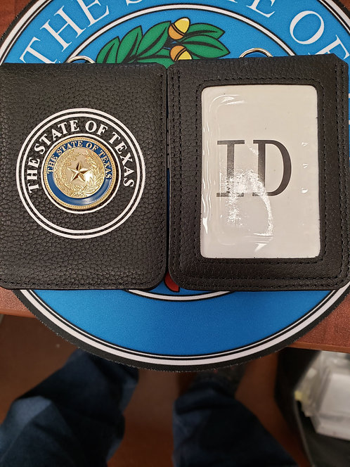 100%REAL LEATHER WALLET ID HOLDER
