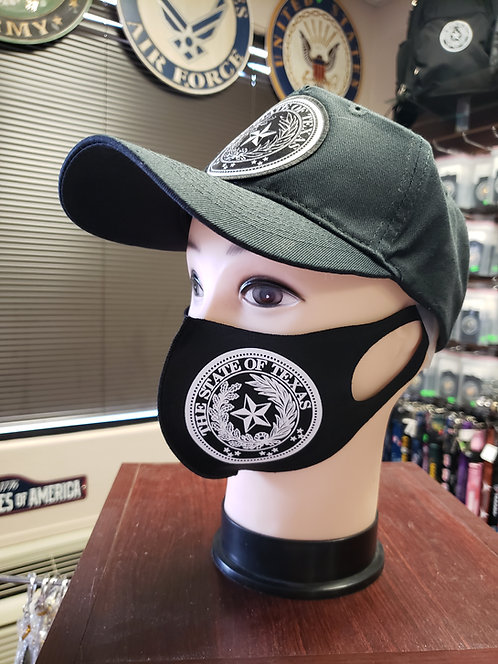 FACE MASK WITH TEXAS SEAL