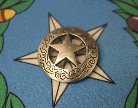 Silver Texas Star C11
