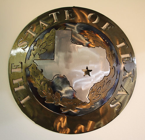 State of Texas WALL Plaque