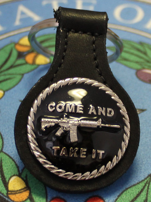 Come And Take It BLK ENAMEL C45