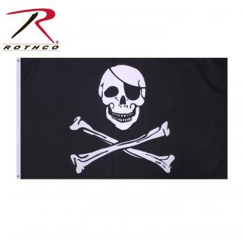 Rothco Jolly Roger Flag 3' X 5'