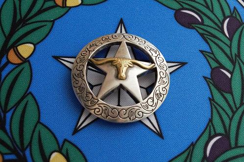Texas Star with Longhorn C7