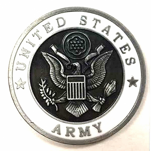 United States Army Metal Magnet