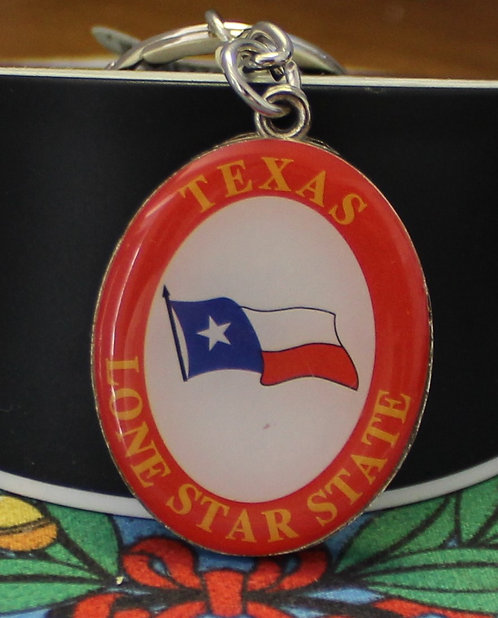 LONESTAR KEYCHAIN (ORANGE)