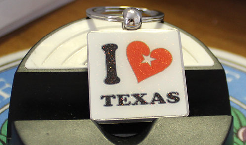 SQ I LOVE TEXAS KEY-CHAIN C-18