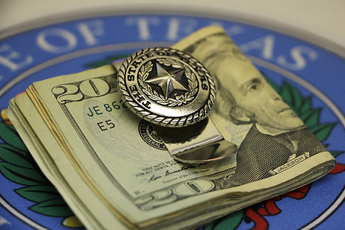 State of Texas money Clip