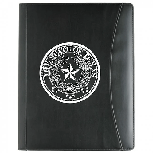 STATE OF TEXAS PADFOLIO W/ FRONT POCKET