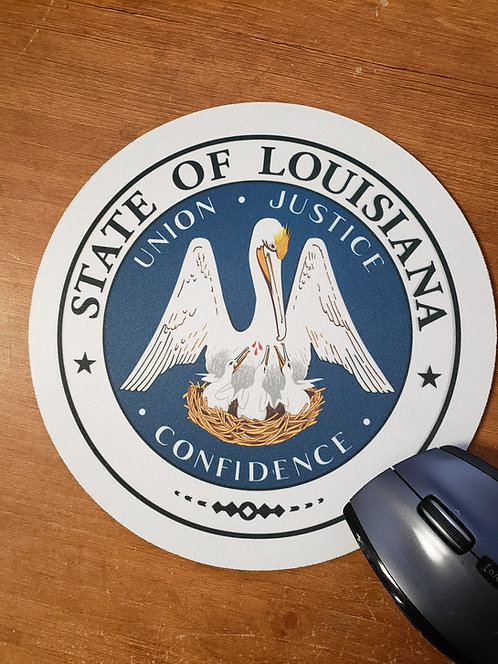 STATE OF LOUISIANA MOUSE PAD