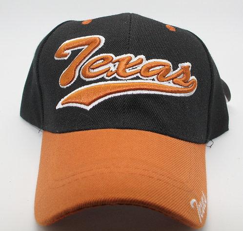 TEXAS CAP ORANGE/BLACK