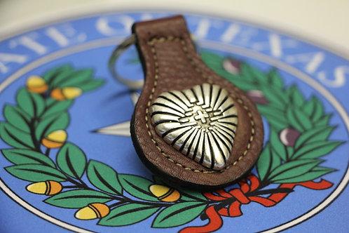 Navajo Heart Keychain