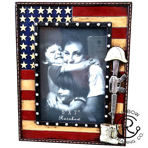 """USA RIFLE 7"""" X 5"""" PICTURE FRAME"""