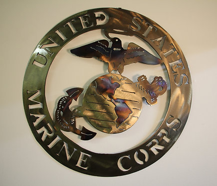 Marine WALL Plaque