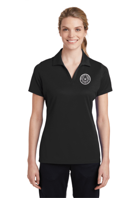 ULTRA-FINE V-NECK WITH COLLAR WOMEN'S POLO