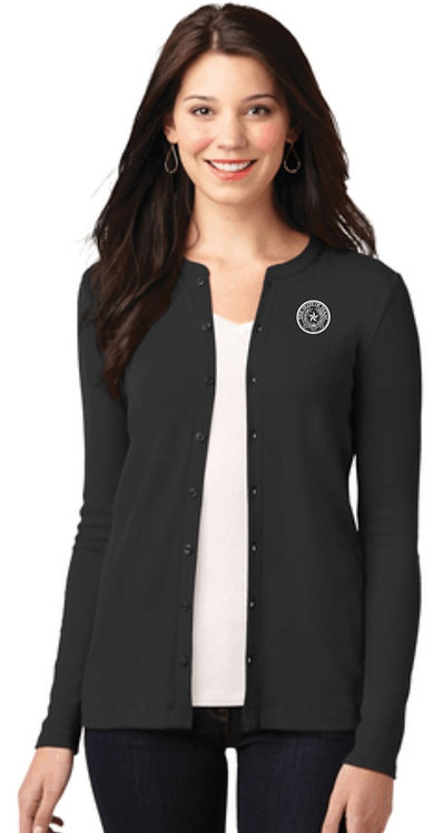 Port Authority®Stretch Button-Front Cardigan  LM1008