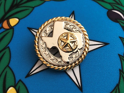 Gold and Silver Texas with Star C37