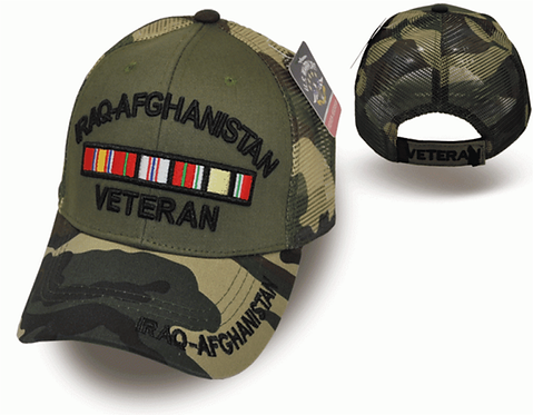 IRAQ AFGHANISTAN VET CAP