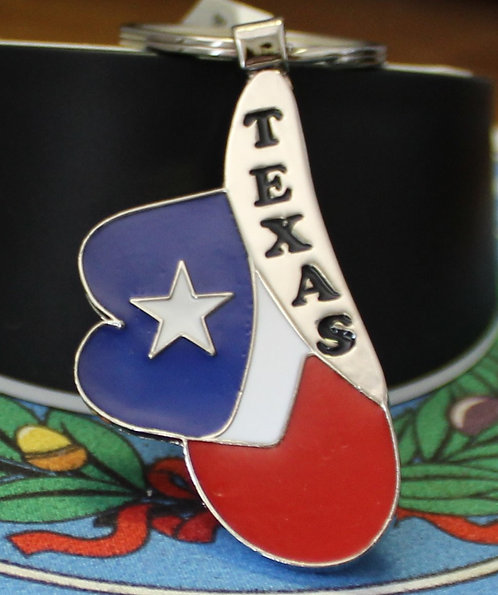 TEXAS COWBOY HAT KEY-CHAIN C-13