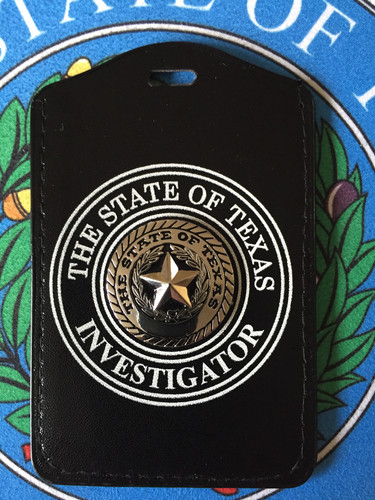 Investigator Badge Lonestarherogear