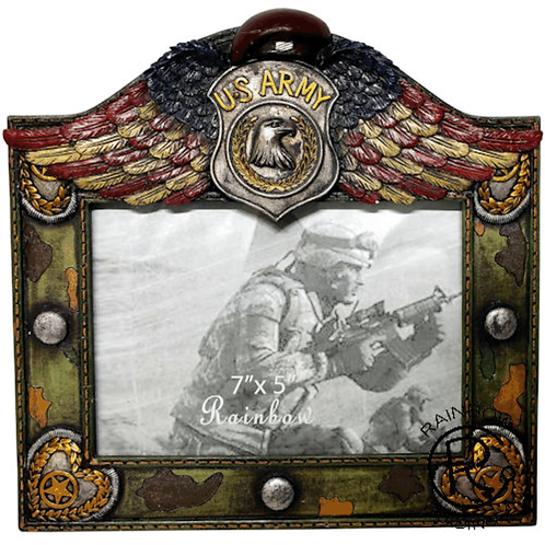 ARMY WINGED 5X7 FRAME