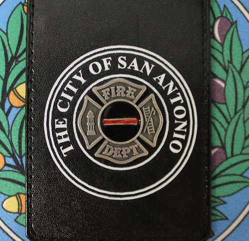 CITY OF SAN ANTONIO FIRE DEPT ID HOLDER