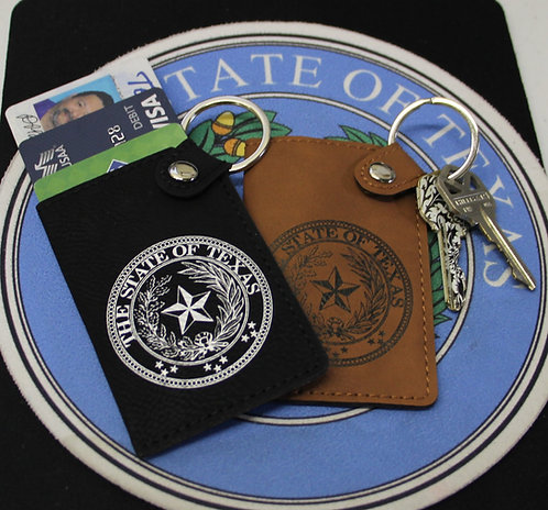 Texas Key and Credit Card Holder