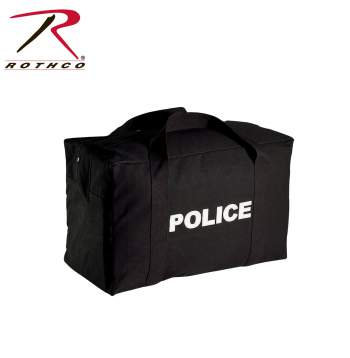 Rothco Canvas Large Police Logo Gear Bag 24 Inches X 15 Inches X 13 Inches