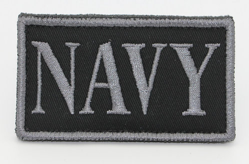 """NAVY FLAG Patch With Hook Back 3 1/2"""" X 2"""""""