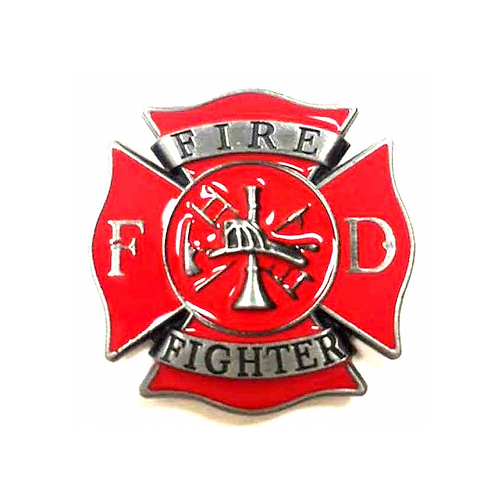 Fire Fighter Metal Magnet