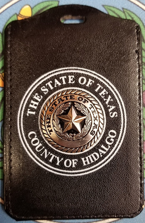 (HIDALGO CO.) BADGE