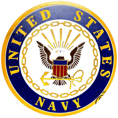 """LARGE 20""""  NAVY PLAQUE"""