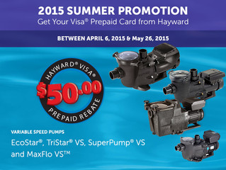 Hayward Variable Speed Pump Rebate