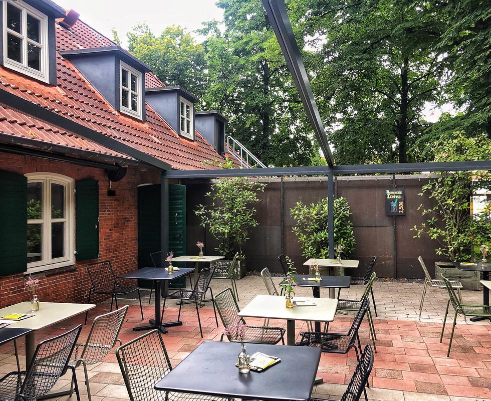 Terrasse | Grüner Jäger |St. Pauli |Hamburg