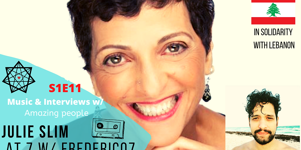 Frederico presents: Music & Interiews with Amazing people.