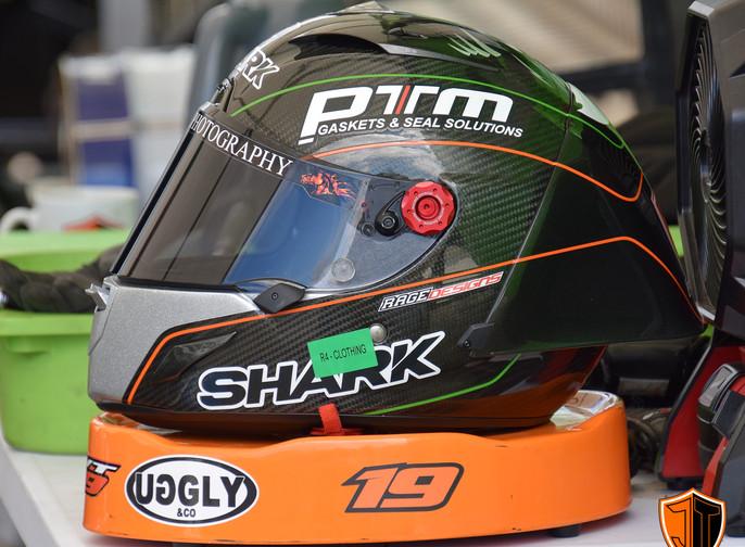 Joe Talbot 19 Racing - Shark Helmets