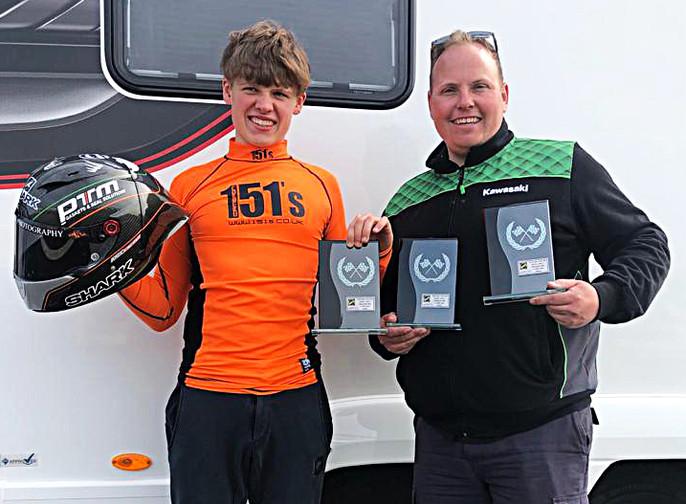Joe Talbot 19 Racing Trophies