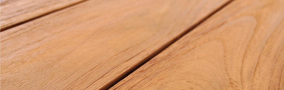 Recycled teak wood