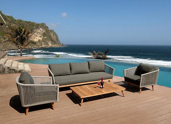 Zanzibar 4pc lounge setting