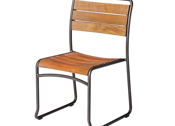 Marbella industrial dining chair