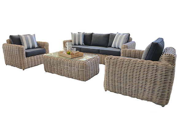 Brindabella 4pc woven lounge