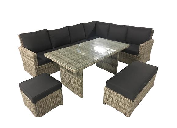 Acacia casual dining lounge setting