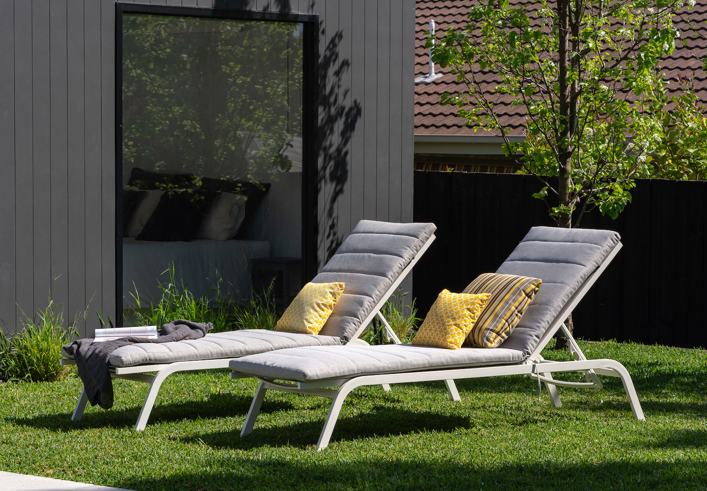 Cushion sunlounges