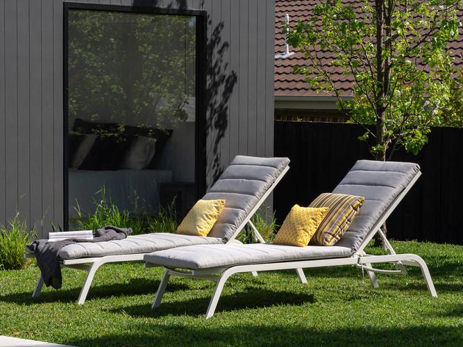 Cushion sunlounges