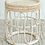 Thumbnail: Napier natural cane side table