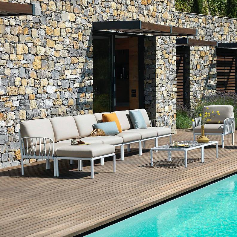 Komodo outdoor resin lounge at Hartleys